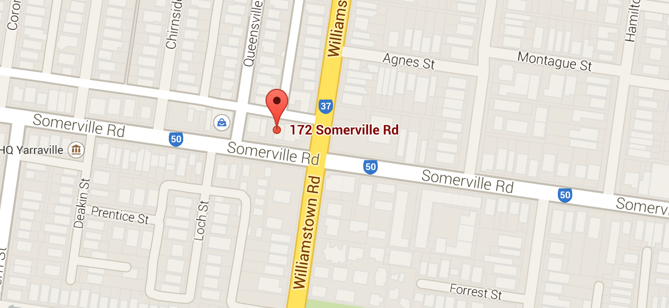 Yarraville Physiotherapy - Map